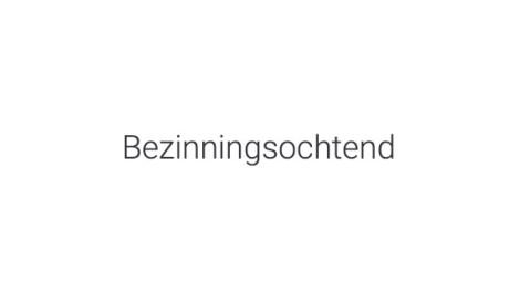 Bezinning